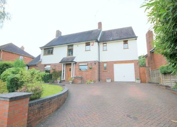 Thumbnail 4 bed detached house for sale in Roe Lane, Newcastle-Under-Lyme