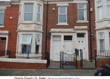 Thumbnail 3 bed flat to rent in Farndale Road, Newcastle Upon Tyne
