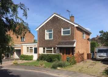 Thumbnail 3 bed detached house for sale in Heather Close, Great Bridgeford, Staffordordshire