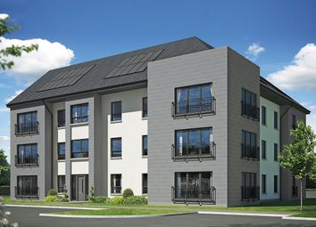 Thumbnail 2 bedroom flat for sale in Off Hamilton Road, Motherwell, Lanarkshire