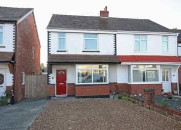 Thumbnail 3 bed semi-detached house for sale in Russell Avenue, Southport
