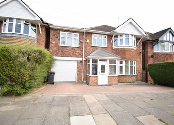 Thumbnail 4 bed detached house for sale in Summerlea Road, Evington, Leicester
