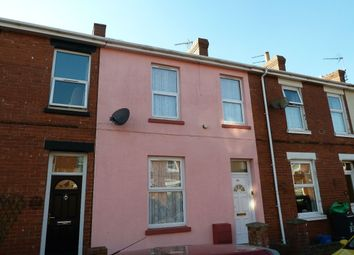 Thumbnail 3 bed terraced house to rent in Egremont Road, Exmouth