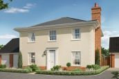 Thumbnail 4 bedroom detached house for sale in The Lavender, Station Road, Framlingham, Suffolk