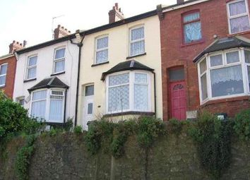 Thumbnail 3 bed terraced house to rent in Teignmouth Road, Torquay