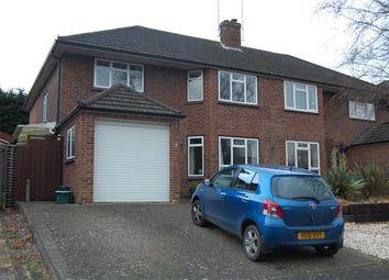 Thumbnail 4 bedroom semi-detached house to rent in Copt Elm Close, Charlton Kings, Cheltenham, Gloucestershire