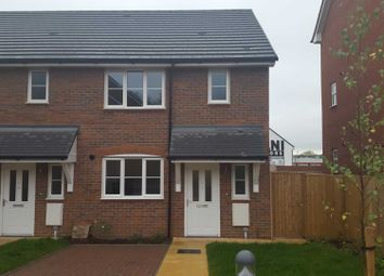 Thumbnail 3 bedroom end terrace house to rent in Farley Hill, Luton