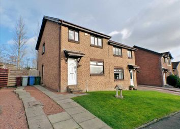Thumbnail 3 bed semi-detached house for sale in Macarthur Crescent, Stewartfield, East Kilbride