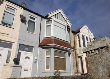 Thumbnail 3 bed terraced house for sale in Locking Road, Weston-Super-Mare