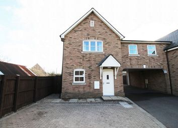 Thumbnail 4 bed semi-detached house for sale in Willow Rise, Somersham, Huntingdon