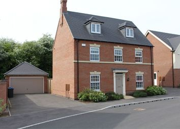 Thumbnail 5 bed detached house for sale in Blockley Road, Broughton Astley, Leicester