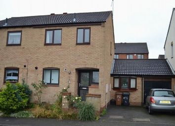 Thumbnail 3 bed semi-detached house for sale in St Dunstans Rise, West Hunsbury, Northampton