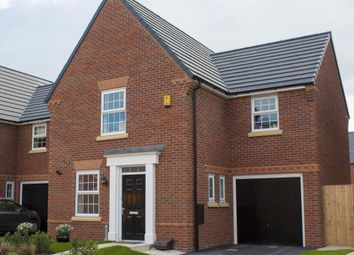 "Thumbnail 3 bed link-detached house for sale in ""Bradwell"" at Chalton Lane, Clanfield, Waterlooville"