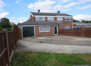 Thumbnail 3 bed semi-detached house for sale in Abbotsbury Road, Bury St. Edmunds