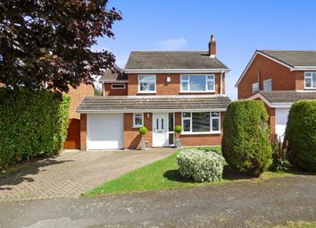 Thumbnail 5 bed detached house for sale in Waverton Close, Hough, Crewe
