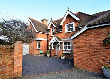 Thumbnail 4 bed detached house for sale in Upper Park Road, Camberley, Surrey
