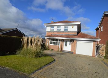 Thumbnail 4 bed detached house for sale in Bracken Way, Ryton