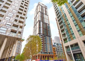 Thumbnail 3 bed flat for sale in Maine Tower, Harbour Central, Canary Wharf, London