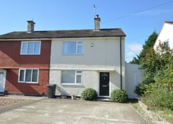 Thumbnail 2 bed semi-detached house for sale in Sharmon Crescent, Leicester