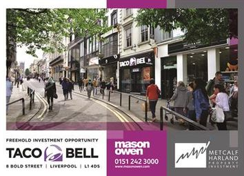 Thumbnail Commercial property for sale in 8 Bold Street, Liverpool, Merseyside