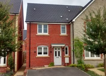 Thumbnail 3 bed terraced house to rent in Station Halt, Swindon, Wiltshire