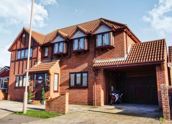 Thumbnail 4 bed detached house for sale in May Avenue, Canvey Island