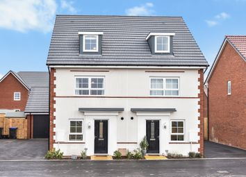Thumbnail 4 bed semi-detached house to rent in Mays Drive, Westbury