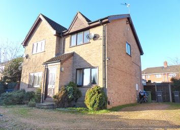 Thumbnail 2 bed semi-detached house for sale in Marlborough Close, Yaxley, Peterborough