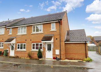 Thumbnail 3 bed end terrace house for sale in Nightingale Crescent, Harold Wood, Romford