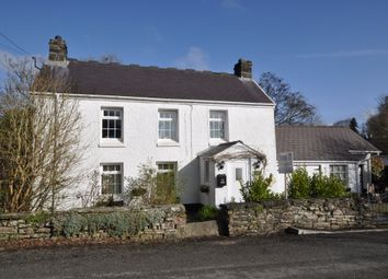 Thumbnail 4 bed detached house for sale in Pen Y Bont, Llanddowror, St Clears