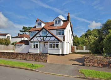Thumbnail 5 bed detached house for sale in Meadway, Lower Heswall, Wirral
