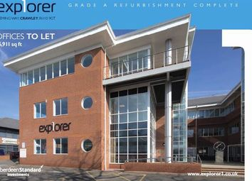 Thumbnail Office to let in Explorer 1, Fleming Way, Crawley, West Sussex
