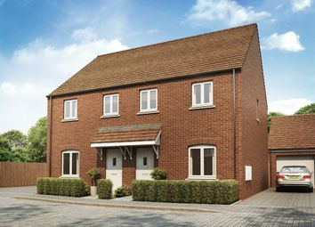 "Thumbnail 3 bed terraced house for sale in ""The Badminton"" at Whitelands Way, Bicester"