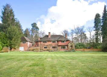 Thumbnail 5 bed detached house to rent in Wentworth, Virginia Water, Surrey