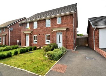 Thumbnail 3 bedroom semi-detached house for sale in Liebert Drive, Pendlebury, Swinton, Manchester