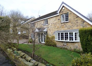 Thumbnail 4 bed detached house for sale in Camborne Drive, Fixby, Huddersfield