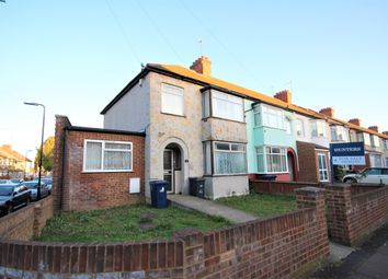 Thumbnail 3 bed end terrace house for sale in Ruskin Road, Southall