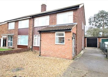 Thumbnail 3 bed semi-detached house to rent in Pipit Rise, Bedford