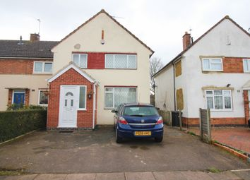 Thumbnail 3 bed semi-detached house for sale in Nelot Way, Leicester