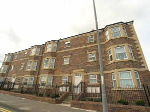 Thumbnail 2 bed flat to rent in Hartington Court, Gateshead
