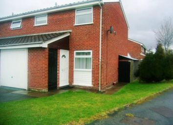 Thumbnail 3 bed terraced house for sale in Sedgefield Grove, Perton, Wolverhampton, Staffordshire