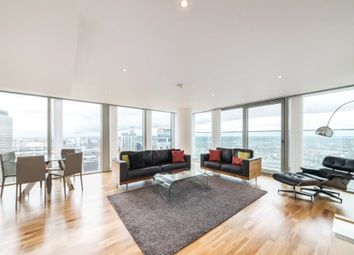 Thumbnail 3 bedroom flat to rent in Landmark Towers, Docklands, London