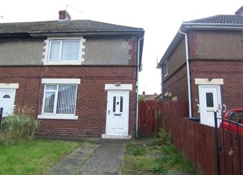 Thumbnail 2 bedroom semi-detached house to rent in Green Crescent, Dudley, Cramlington