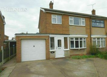 Thumbnail 3 bed semi-detached house for sale in Hills Close, Sprotbrough, Doncaster.