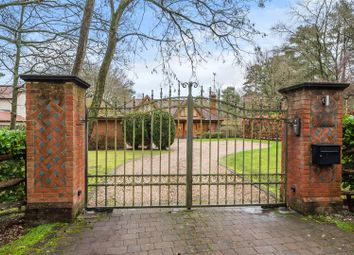 Thumbnail 4 bed detached house for sale in Heath Ride, Finchampstead, Berkshire