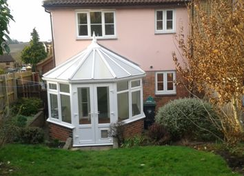 Thumbnail 1 bed terraced house to rent in Doddenhill Close, Saffron Walden