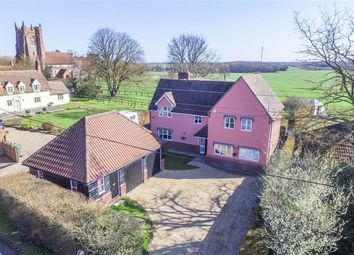 Thumbnail 5 bed detached house for sale in Church Street, Gestingthorpe, Halstead
