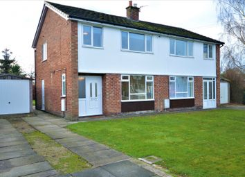 Thumbnail 3 bed semi-detached house to rent in Birchwood Drive, Lower Peover, Knutsford