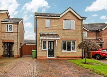 Thumbnail 3 bed detached house for sale in Sagefield Close, Grimsby