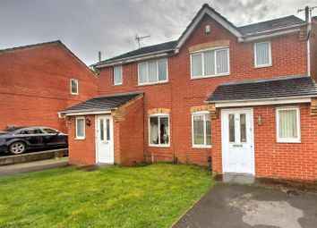 Thumbnail 3 bedroom semi-detached house for sale in Ambleside Drive, Glen Parva, Leicester